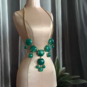 Emerald Green Necklace- Gently Worn!